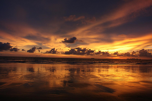 Sunset, andaman