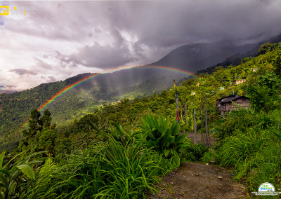 North sikkim rainbow