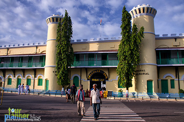 Entrance of cellular jail