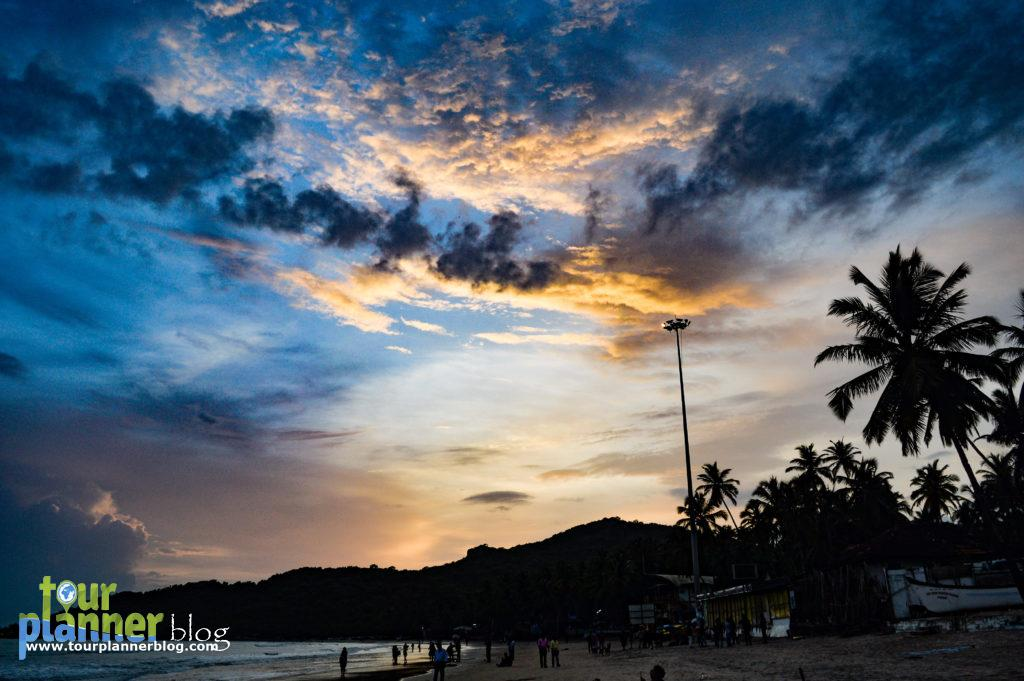 Enjoy the sunset at Palolem beach