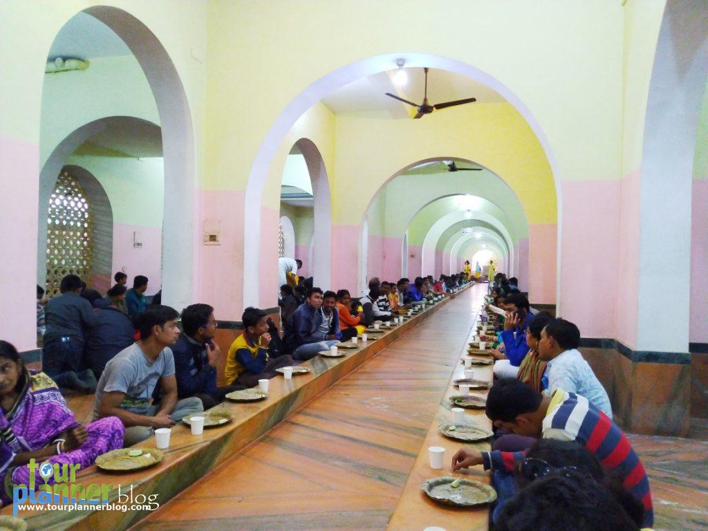 Dining hall of Gada Bhawan