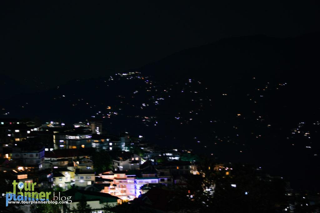 Gangtok in evening