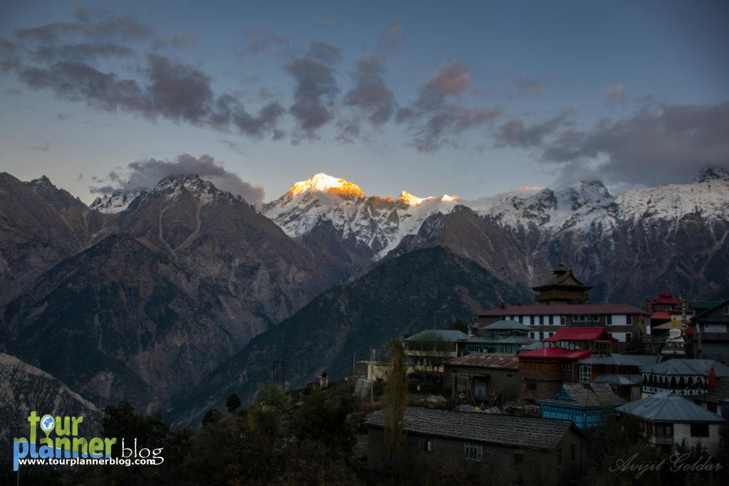 From Hotel Balcony, Kalpa