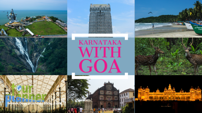 Karnataka with Goa Itinerary for 9 nights 10 days