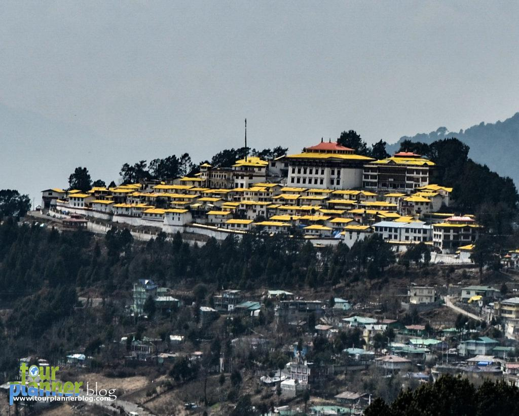 Tawang Monastery from market area