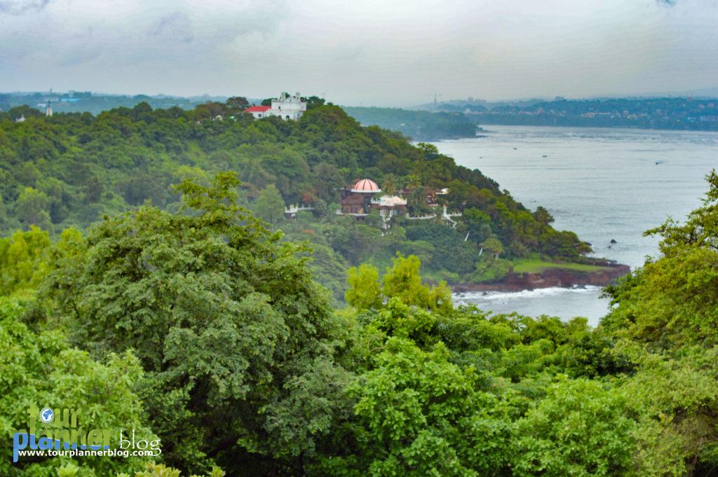View from Aguada Fort